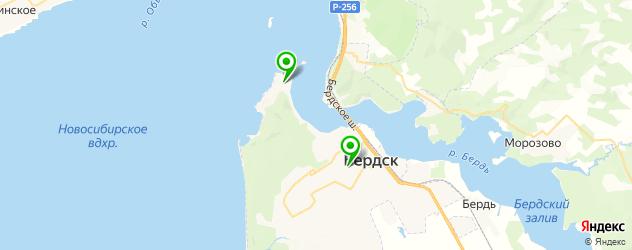 пивные рестораны на карте Бердска
