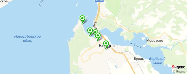постные меню в ресторанах на карте Бердска