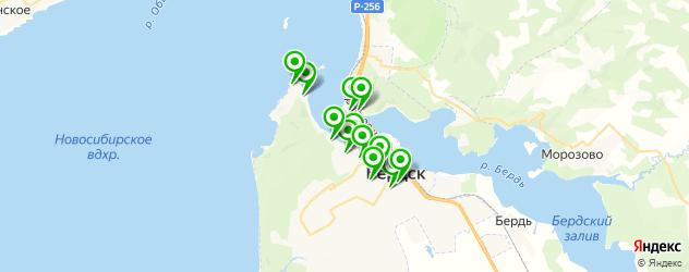 рестораны для свадьбы на карте Бердска