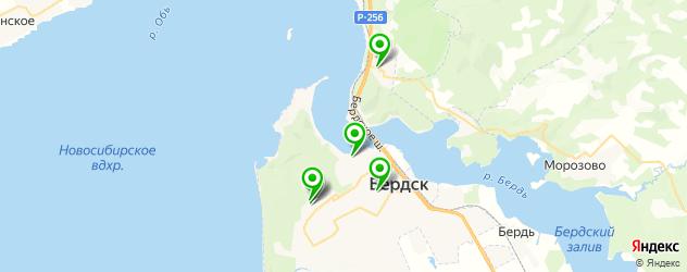 больницы на карте Бердска