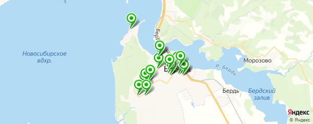 массажные салоны на карте Бердска