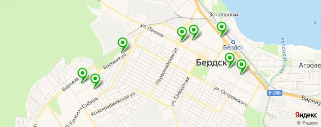 школы танцев на карте Бердска