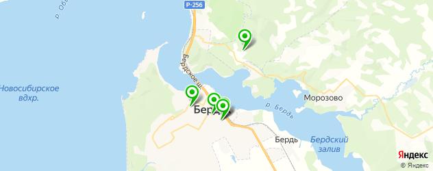 экскурсии на карте Бердска