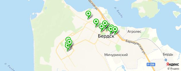 курсы на карте Бердска