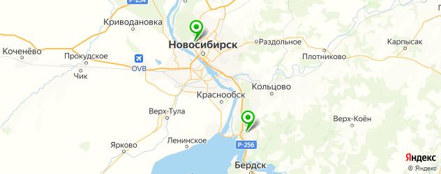 анализ на наркотики на карте Новосибирска