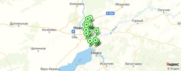 логопед на карте Новосибирска