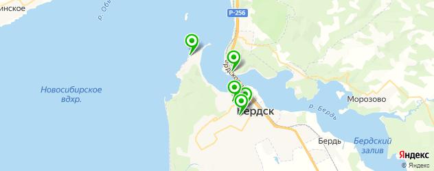 русские рестораны на карте Бердска