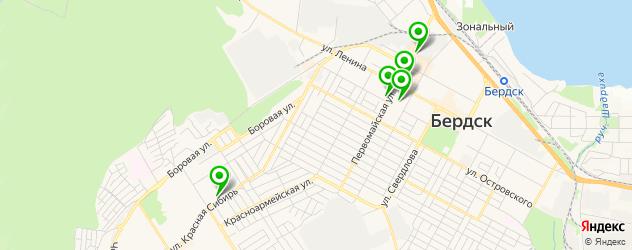 химчистки на карте Бердска