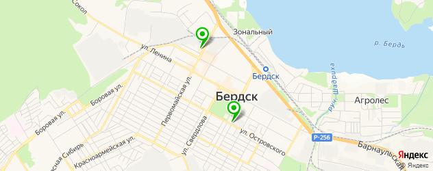 терминалы оплаты на карте Бердска
