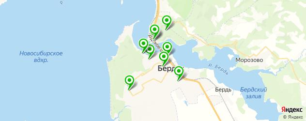 кафе с живой музыкой на карте Бердска