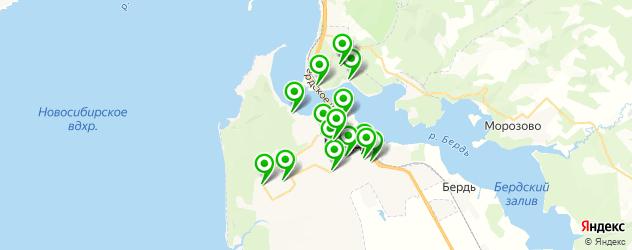 бары на карте Бердска