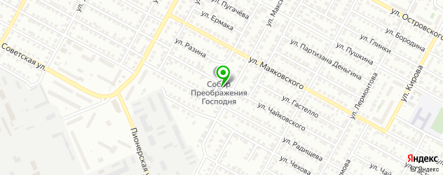 гимназии на карте Бердска