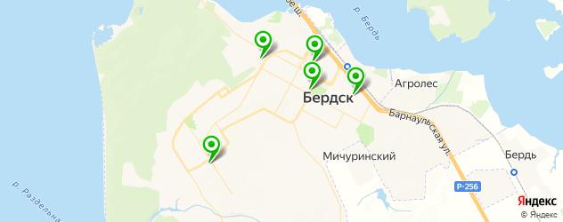 детские развлекательные центры на карте Бердска