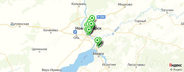 онкологическое отделение на карте Новосибирска