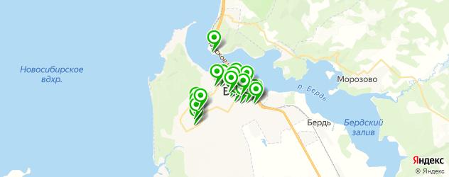 сервисные центры на карте Бердска
