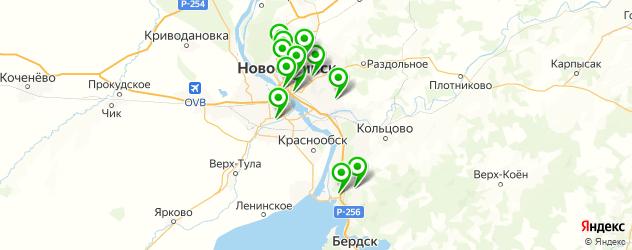 ремонт вебасто на карте Новосибирска
