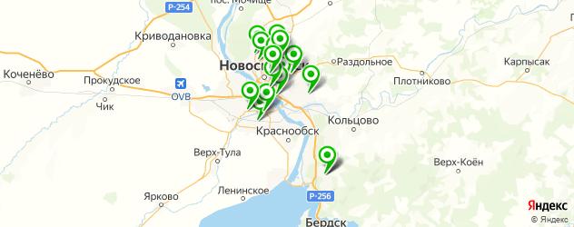 ремонт брелков автосигнализации на карте Новосибирска