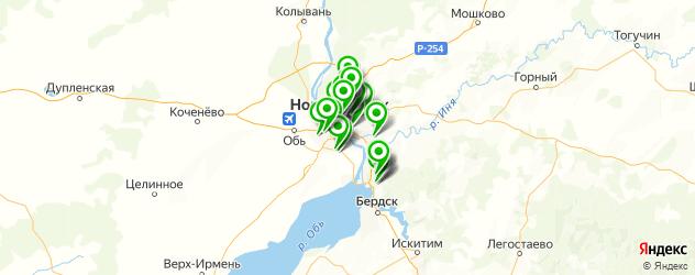 ателье на карте Новосибирска