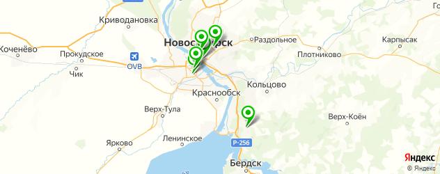 сомнолог на карте Новосибирска
