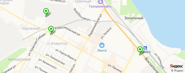 магазины автозвука на карте Бердска