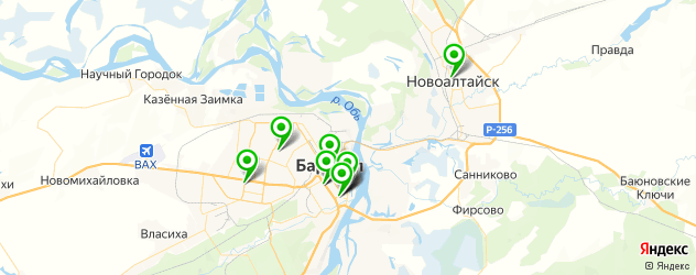 центры эстетической медицины на карте Барнаула