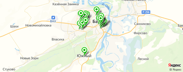 пирсинги салон на карте Барнаула
