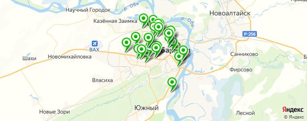 Бытовые услуги на карте Барнаула