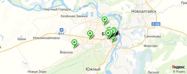 университеты на карте Барнаула