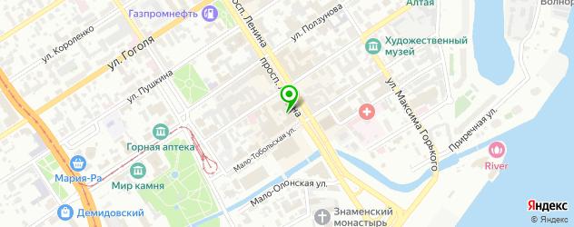 где купить парик на карте Барнаула