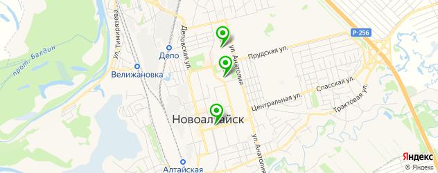 школы вокала на карте Новоалтайска