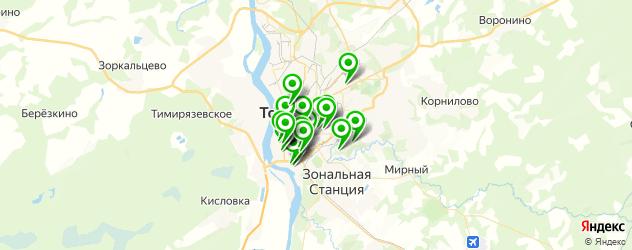 Образование и развитие на карте Томска