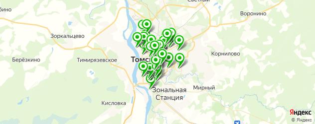 мебельные мастерские на карте Томска