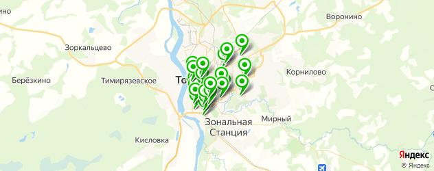 кондитерские на карте Томска