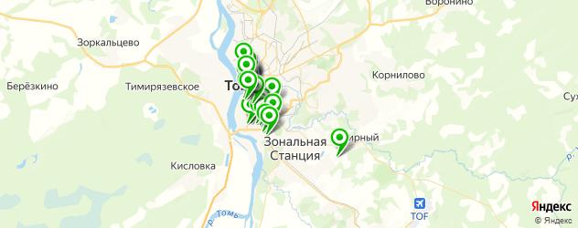 где купить косметику на карте Томска