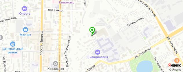 детские больницы на карте Томска