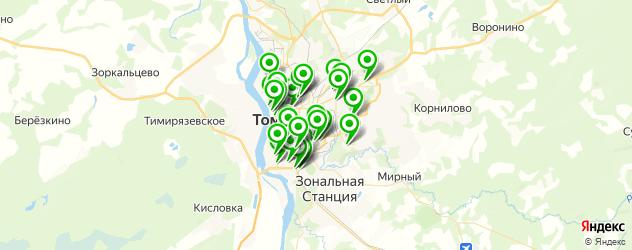швейные мастерские на карте Томска