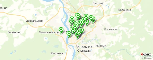 тюнинги ателье на карте Томска