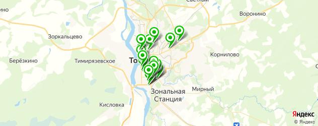 ортопедические магазины на карте Томска