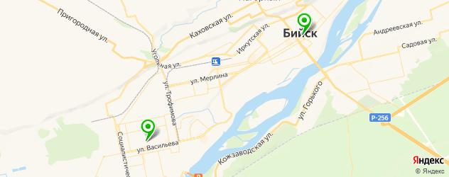 центры эстетической медицины на карте Бийска
