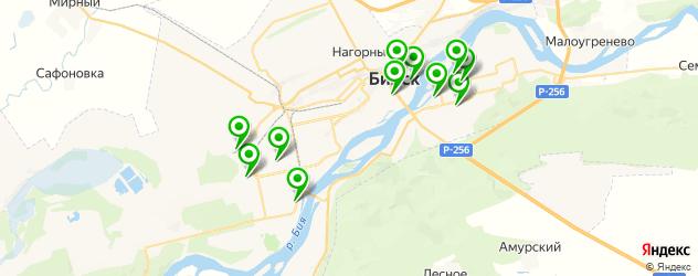 пекарни на карте Бийска