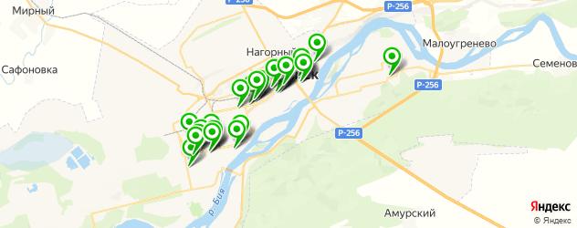 центры косметологии на карте Бийска