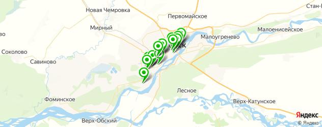 диагностические центры на карте Бийска