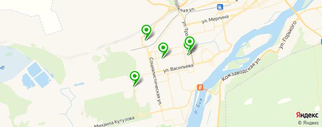 университеты на карте Бийска