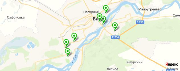 реабилитационные центры на карте Бийска