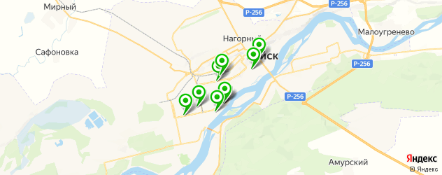 детские развлекательные центры на карте Бийска