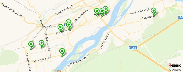ортопедические магазины на карте Бийска