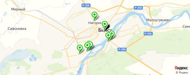 автосалоны на карте Бийска