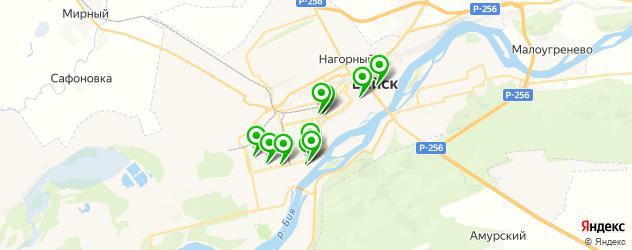 пирсинги салон на карте Бийска
