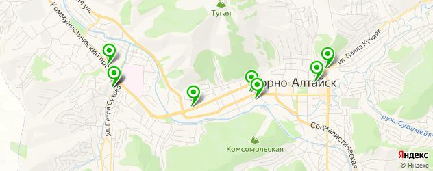 массажные салоны на карте Горно-Алтайска