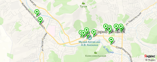 скупка золота на карте Горно-Алтайска